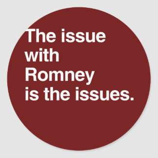 Este problema con Romney es el issues.png Etiquetas Redondas