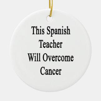 Este profesor español superará al cáncer