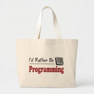 Esté programando bastante bolsas
