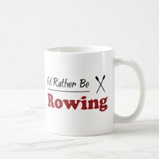 Esté remando bastante taza clásica