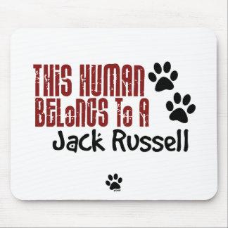 Este ser humano pertenece a Jack Russell Tapete De Ratones