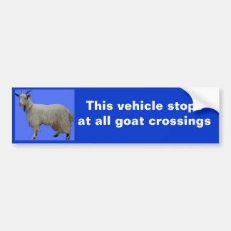 Este stopsat del vehículo todas las travesías de l pegatina para auto