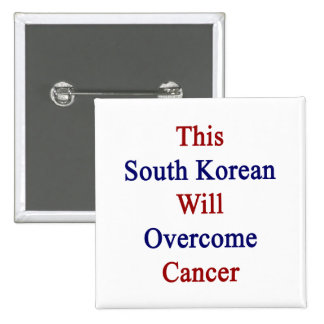 Este sudcoreano superará al cáncer pin