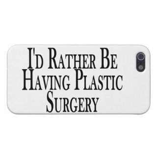 Esté teniendo bastante cirugía plástica iPhone 5 fundas
