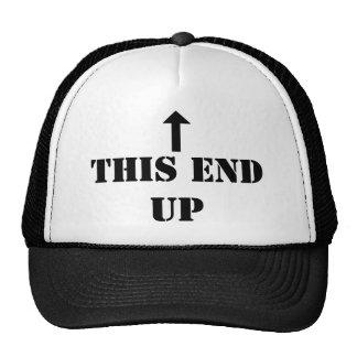 Este termine para arriba el gorra del camionero