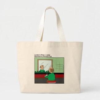 Este termine para arriba los regalos divertidos y bolsa tela grande