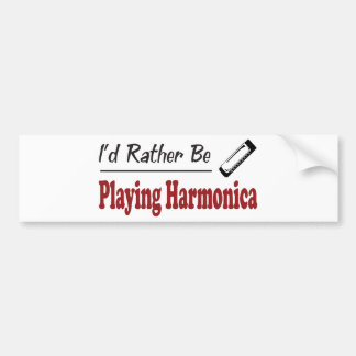 Esté tocando bastante la armónica pegatina para auto