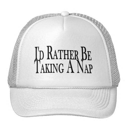 Esté tomando bastante una siesta gorras de camionero