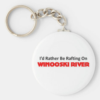 Esté transportando en balsa bastante en el río de  llaveros personalizados