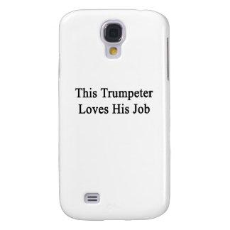 Este trompetista ama su trabajo carcasa para galaxy s4