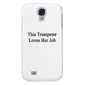 Este trompetista ama su trabajo funda samsung s4