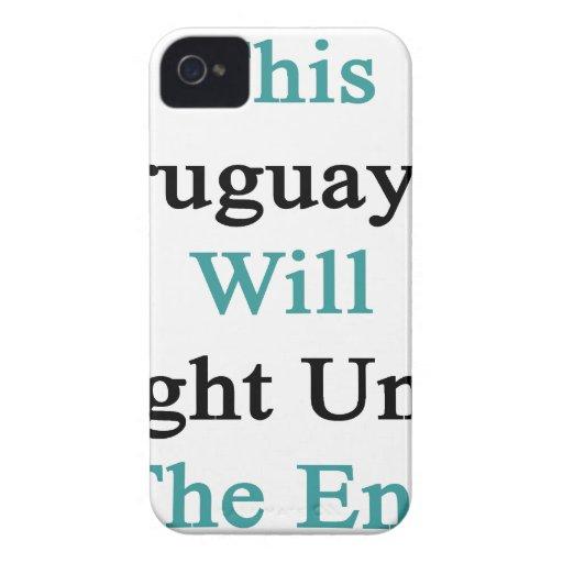 Este Uruguayan luchará hasta el extremo Case-Mate iPhone 4 Coberturas