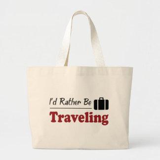 Esté viajando bastante bolsas de mano