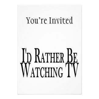 Esté viendo bastante la TV Invitación Personalizada