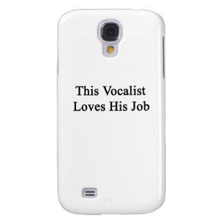 Este vocalista ama su trabajo funda para galaxy s4