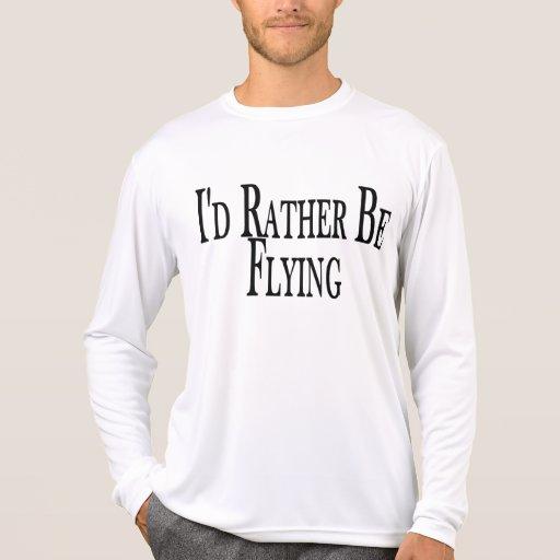 Esté volando bastante camisetas