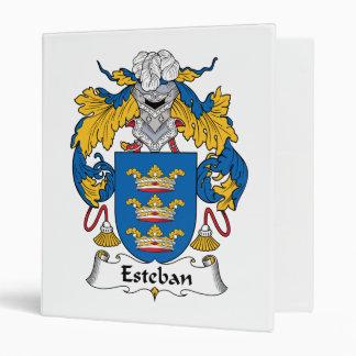 Esteban Family Crest Binder