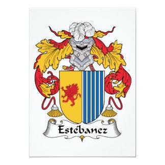 Estebanez Family Crest Invite