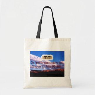Esteem The Name Yahweh (Tote Bag) Tote Bag