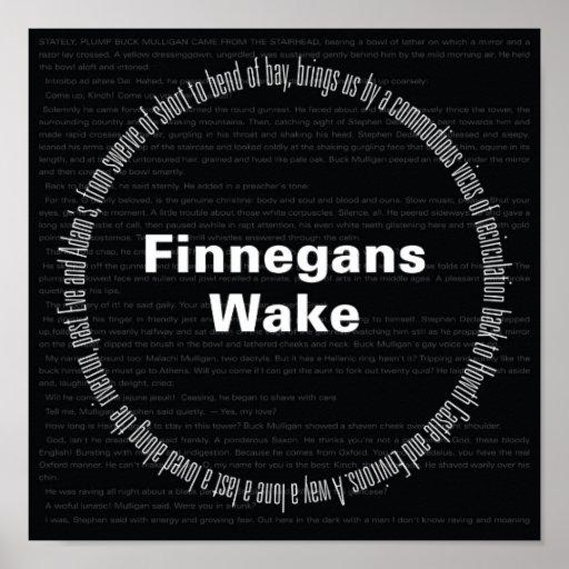 Estela de Finnegans Póster