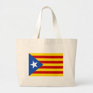 Estelada, bandera independentista de Catalunya Jumbo Tote Bag