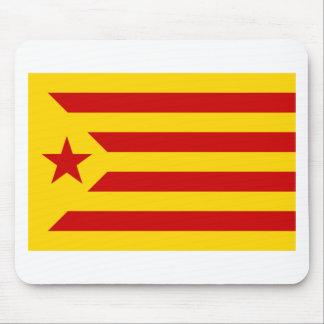 Estelada, bandera independentista de Catalunya Mouse Pad