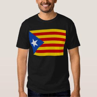 Estelada, bandera independentista de Catalunya T Shirt