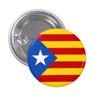 Estelada Catalan Flag 1 Inch Round Button