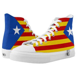 Estelada Flag High-Top Sneakers