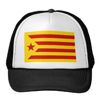 Estelada, independentista de Catalunya del bandera Gorros Bordados