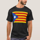 Estelada, independentista de Catalunya del bandera Playera