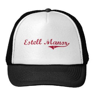 Estell Manor New Jersey Classic Design Hat
