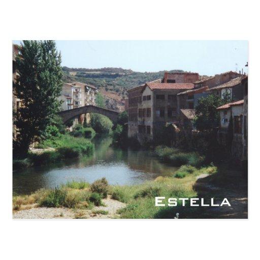 Estella Tarjeta Postal