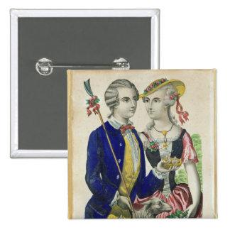 Estelle and Nemorin Pinback Button