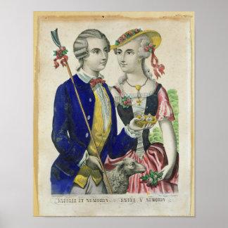Estelle and Nemorin Poster