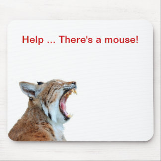 Estera chistosa del ratón del gato grande tapetes de ratones