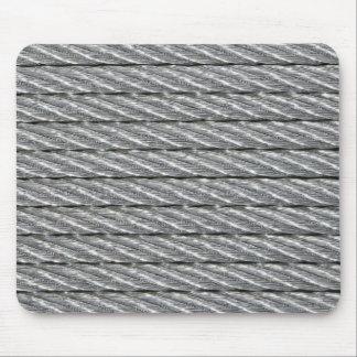 Estera de acero del ratón de la foto del cable tapete de ratón