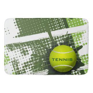 Estera de baño del diseño del tenis