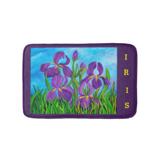 Estera de baño del iris