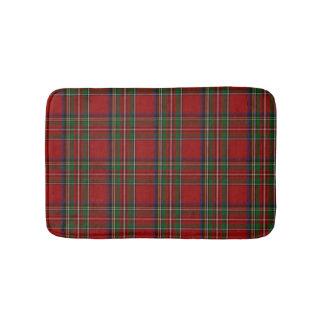 Estera de baño real de la tela escocesa de Stewart