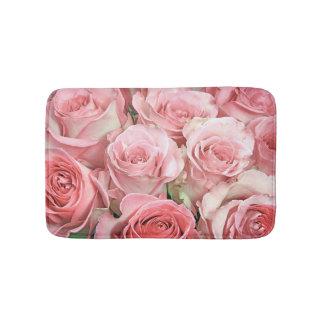 Estera de baño rosada de los rosas