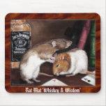 Estera de la rata, la estera única del ratón de la tapete de raton