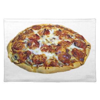 """""""Estera de lugar del diseño de la pizza de Mantel"""