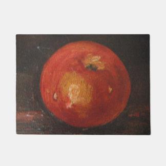 Estera de puerta Ana Hayes que pinta Apple Felpudo