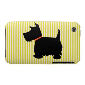 Estera del caso del iphone 3G del perro de la iPhone 3 Case-Mate Protector
