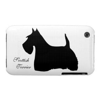Estera del caso del iphone 3G del perro de la iPhone 3 Case-Mate Fundas