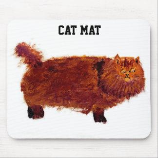 Estera del gato no una estera del ratón mousepads