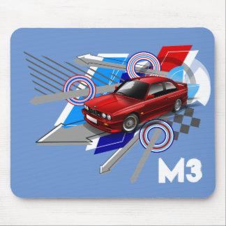Estera del ratón de Beemer E30 M3 Mousepads