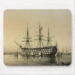 Estera del ratón de la HMS Victory Tapete De Ratón