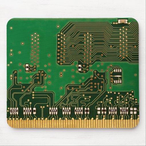 estera del ratón de la placa de circuito tapete de ratón